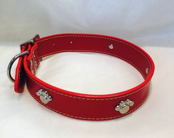Red Dog Collar