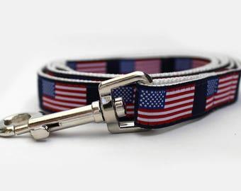 Stars n Stripes Dog Leash