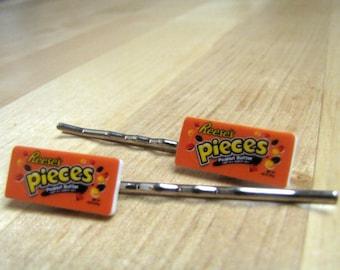 Chocolate Inspired Bobby Pins