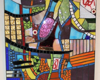 Stained Glass, Mosaic, Art, Abstract, Colorful, Motion