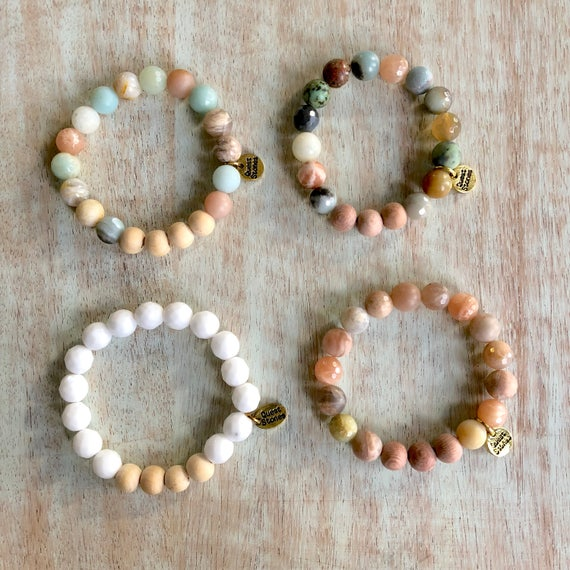 *SPECIAL LIMITED EDITIONS* 4 Different Styles of Essential Oil Bracelets