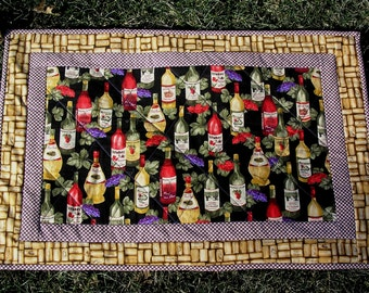 Quilted Tablerunner or Wall Hanging