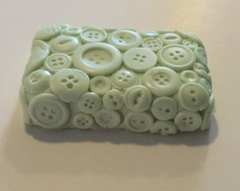 Button Soap! Fun for the sewer and crafter in your life.