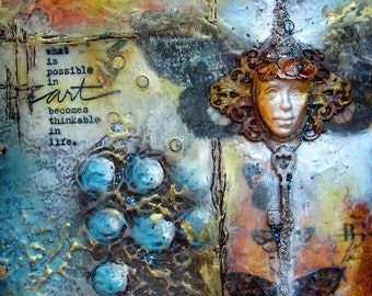 Art Journaling and Beyond Mixed Media Self-Paced Online Workshop