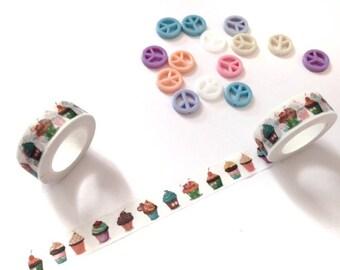 Washi Tape | Cupcakes