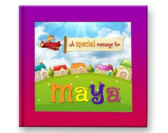 Personalized Name Book for kids, Personalised Book teaches children manners, values, and confidence. Great gift idea!
