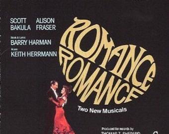 SALE! Romance Romance, 2 New Musicals, Original Broadway Cast Recording LP, RARE New Factory Sealed Collectible Vinyl Record