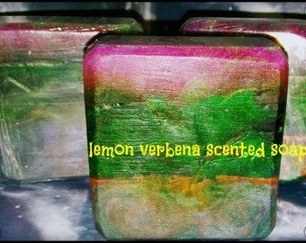 Lemon verbena galaxy soap