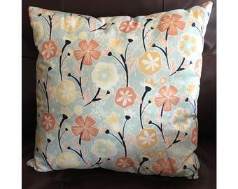Soft Color Flower Pillow