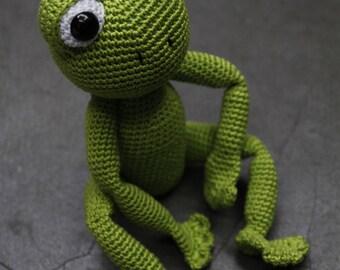 Sam the Frog - Pattern