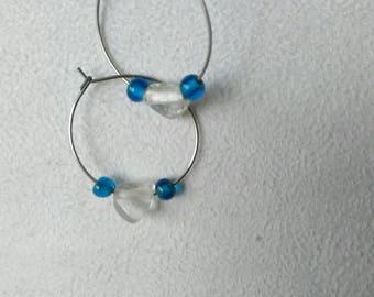 """""""Nebula Butterfly 14"""" hoop"""