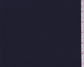 Deep Navy Jersey Knit, Fabric By The Yard