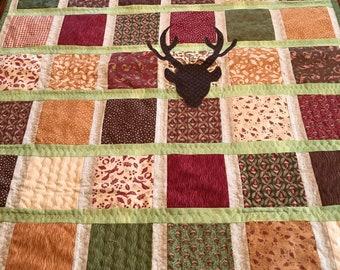Deer throw or baby blanket