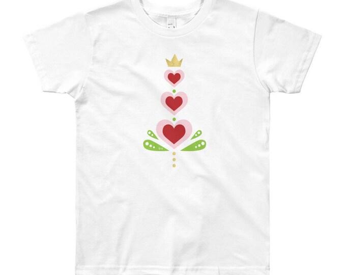 Youth Heart Short Sleeve T-Shirt