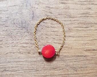 Ring chain sea bamboo
