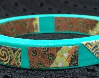 Tiffany mosaic bangle