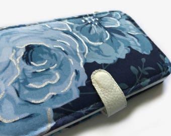 Blue Rose iPhone 7 Case iPhone 7 wallet case iPhone 7 Plus Case iPhone 7 Plus wallet case