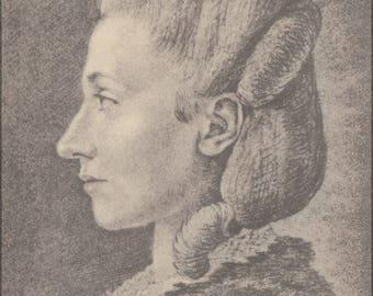 Poster, Many Sizes Available; Goethe Frauenbildnis, Stein, Charlotte Von Wahrscheinlich.Jpeg_Files