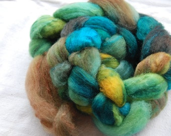Top handdyed Merino, 3,5 oz, colour Dragon