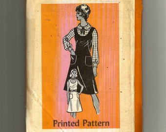 Printed Pattern Miss Dress or Jumper and Blouse Pattern 4505