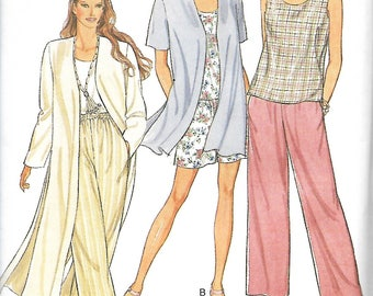 Style 2598 PerfectTiming 2 Hour Separates Pattern, Misses Top, Pants, Shorts And Jacket In Two Lengths, S-XXL, UNCUT