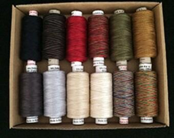 Valdani Quilting Threads - The Seasons - Winter - 60 wt.