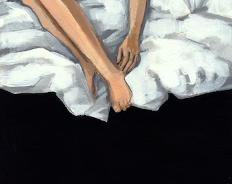 Floating . giclee art print in all sizes