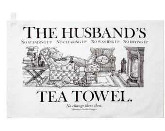 The Husband's Tea Towel.