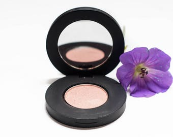 Rose Gold Pearlescent Pressed Mineral Eyeshadow