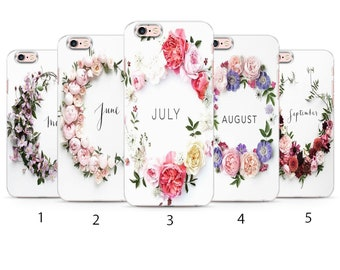 Flower Crown May June July August September Inspiration Photo for iPhone Silicone Case Good Vibes Words Inspiration Summer Vibes Bride m44