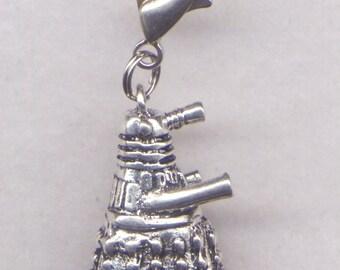 Dalek Stitch Marker Clip Dr Who Whovian Zipper Pull Single /SM232