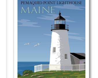 Pemaquid Point Lighthouse Card BP10