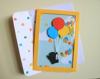 Confetti Balloon card