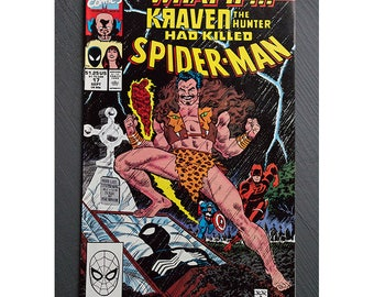What If Number 17 1989 Spider-Man Kraven