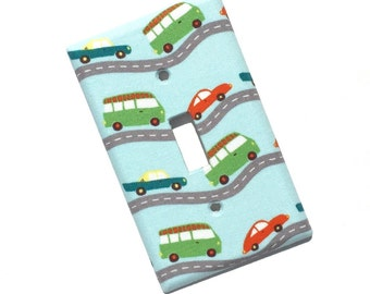 Cars Light Switch Plate Cover
