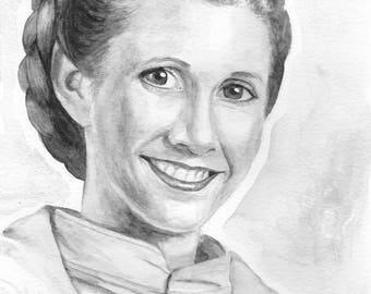 Princess Leia Prints
