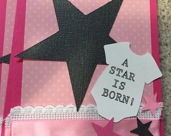 Star baby shower invites