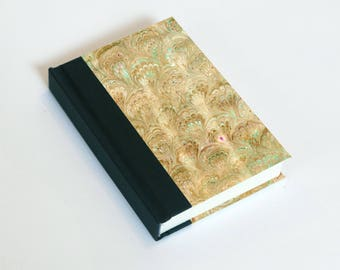 """Sketchbook 4x6"""" with motifs of marbled papers - 9"""