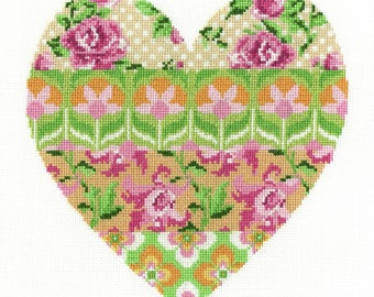 Floral Arrangement Cross Stitch Kit by DMC, BK1672,  Designed by Jayne Schofield , Flowered Forms, counted cros stitch, floral / flower kit