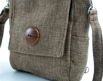 sling bag purse, green backpack, messenger bag converts to  tote bag ,olive green purse, womens handbag, crossbody bag, zipper bag, fit Ipad