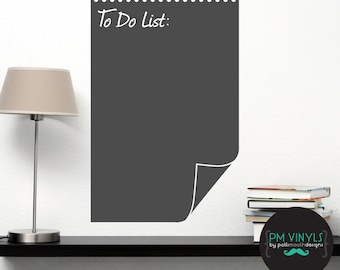 To-Do List Chalkboard Vinyl Decal