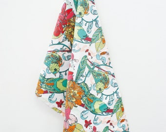 Bird pattern TeaTowel