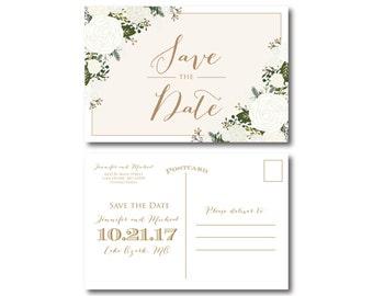 PRINTABLE Save the Date Postcard Printable Save the Date Wedding Save the Date Save-the-Date Wedding Postcard Save our Date #CL177