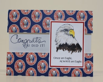 Once an Eagle... Eagle Scout Congratulations Card