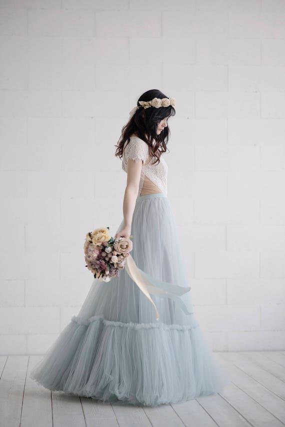 Dolores - rustic bridal skirt