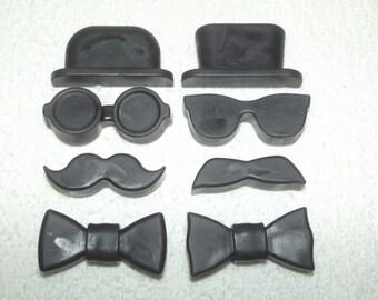 Gentleman's Soap Set, Men's Soap, Mustache Soap Set, Groomsmen Soap Set, Gender Reveal Favor, Gentleman Favor, Mr. & Mrs Favor, Mister Favor