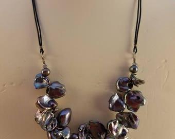 Petal  Pearl Necklace