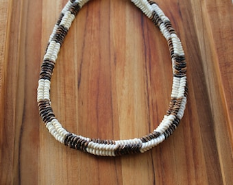 The Cobra - Ostrich Eggshell Necklace