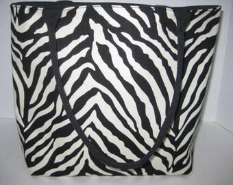 Zebra Women Medium Size Tote