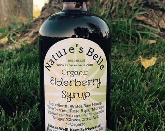 Organic Elderberry Syrup 32oz